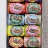 Sajou 12 Calais Cocoons Box Assortment - N°6 Bright Variegated