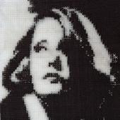 Greta Garbo - Patterns by Jill Oxton