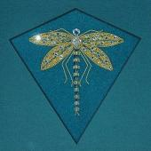Bejewelled Dragonfly by Alison Cole