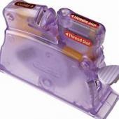 Clover Desk Top Needle Threader - Purple
