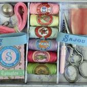 Boîte à couture Sajou petit modè