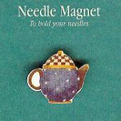 Polka Dot Teaport Needle Magnet