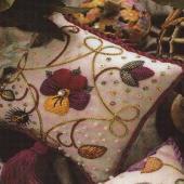 Elizabethan Pincushion Rich Colours