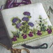 Embroidered Needlebook by Helen Dafter