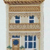 3D Terrace House - Patterns by Jill Oxton