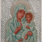 Virgin of Tikhvine - Patterns by Jill Oxton
