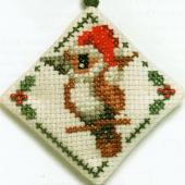 Kookaburra Diamond - Pattern by Jill Oxton