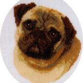 Pug - Patterns by Jill Oxton