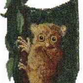 Tarsier Amulet Bag - Pattern by Jill Oxton