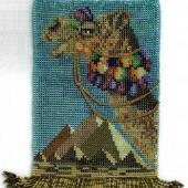 Camel Amulet - Pattern by Jill Oxton