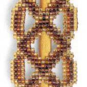 Celtic Knot Barrette - Patterns by Jill Oxton