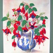 Fuchsia Fantasy by Jennifer Bennett