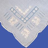 Lattice Handkerchief