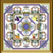 Provence Mandala