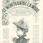 Vintage Print -  Lady 1