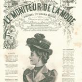 Vintage Print - Lady 3