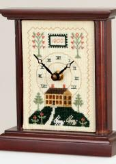 Small Carriage Clock by Sudberry House available at Australian Needle Arts