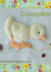 Caterpillar Duck by Jan Kerton available from Australian Needle Arts