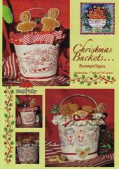 Christmas Buckets by Bronwyn Hayes - Red Brolly