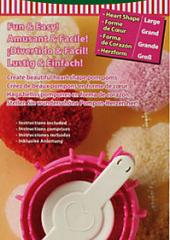Clover Heart Pom Pom Maker available from Australian Needle Arts