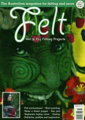 Felt Magazine available from Australian Needle Arts