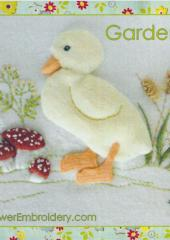 Garden Duck by Jan Kerton available from Australian Needle Arts