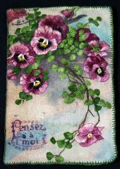 Pansy Nostalgia by Jennifer Bennett available from Australian Needle Arts