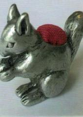 Vintage Pewter Pincushion available from Australian Needle Arts