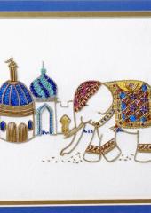 Rajah the Elephant by Irene Junkuhn available at Australian Needle Arts