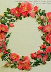Little Flowers in Silk and Organza Ribbon by Di van Niekerk & Marina Zherdeva