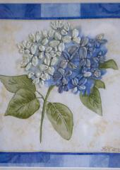 Single Hydrangea by Jennifer Bennett