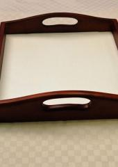 Wooden trays for embroidery