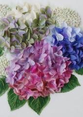 Summer Hydrangeas by Jen Bee