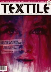 Textile Fibre Forum magazine available from Australian Needle Arts
