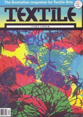Textile - Fibre Forum Magazine available from Australian Needle Arts