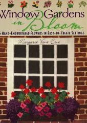 Window Gardens in Bloom available at Australian Needle Arts