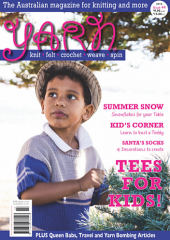Yarn Magazine available from Australian Needle Arts